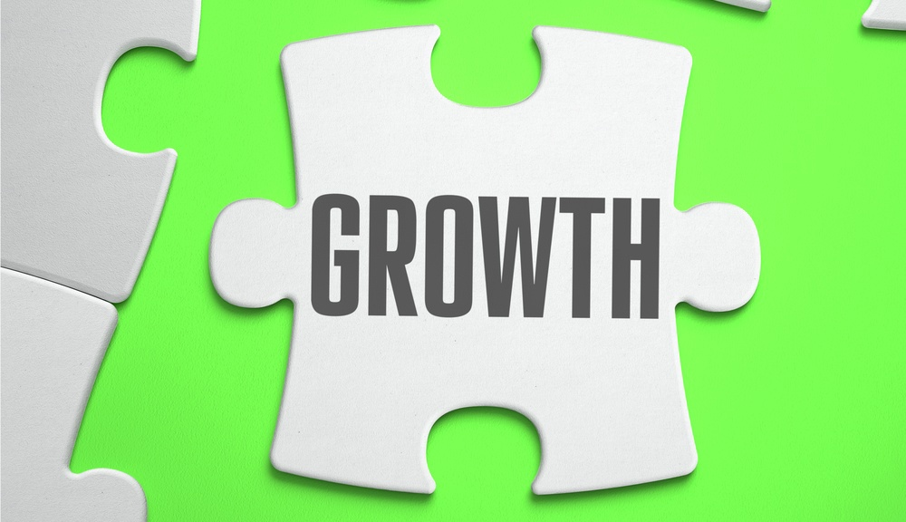 Growth - Jigsaw Puzzle with Missing Pieces